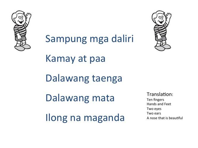 Sampung Mga Daliri Lyrics