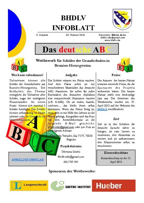 BHDLV`s Flip-Infoblätter