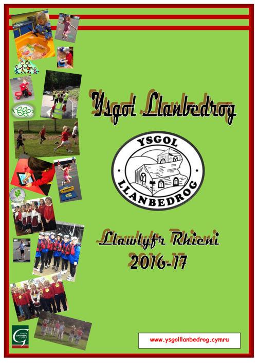 Ysgol Llanbedrog - Llawlyfr 2016/17