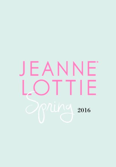 Jeanne Lottie Spring 2016