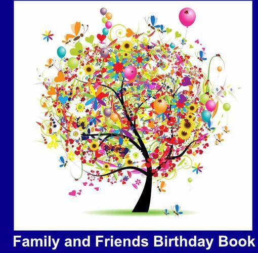 FamilyandFriendsBirthdayBook