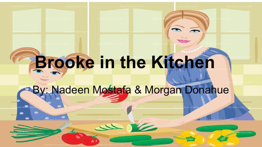 Childrens book_Brooke in the kitchen