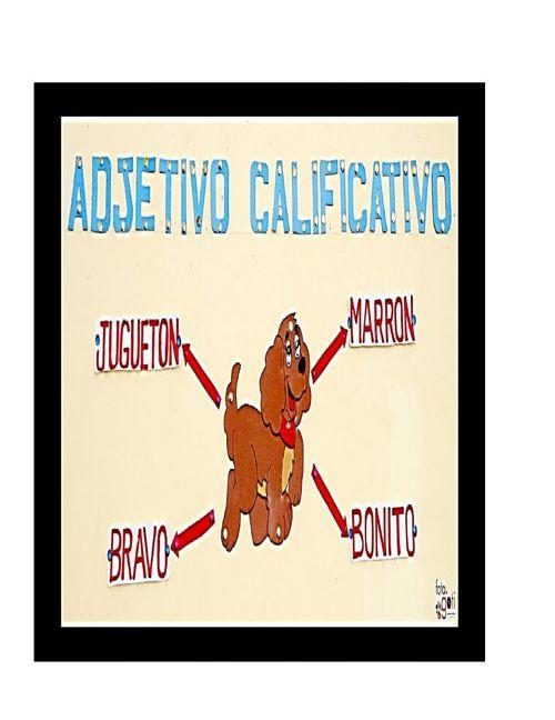 ADJETIVO CALIFICATIVO