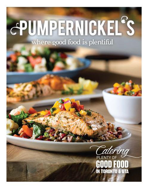 Pumpernickel's Catering Brochure 2016 - Part 1