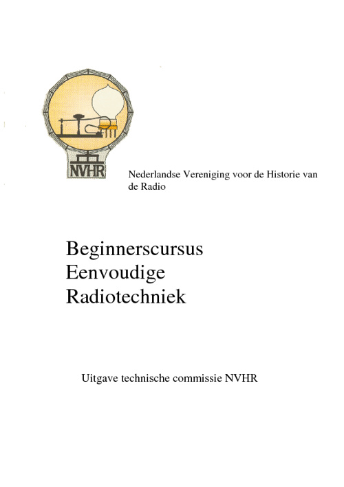 NVHR Radio cursus deel 1