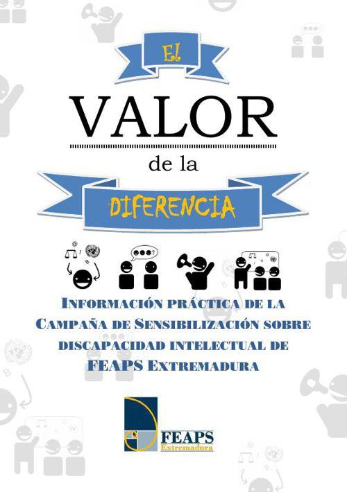 Dossier Campaña de Sensibilización El Valor de la Diferencia