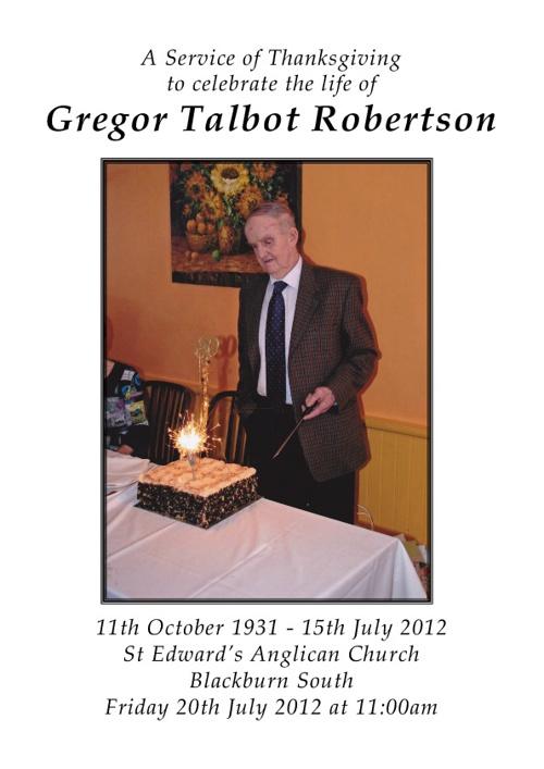 Gregor Robertson