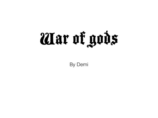 war of gods demi