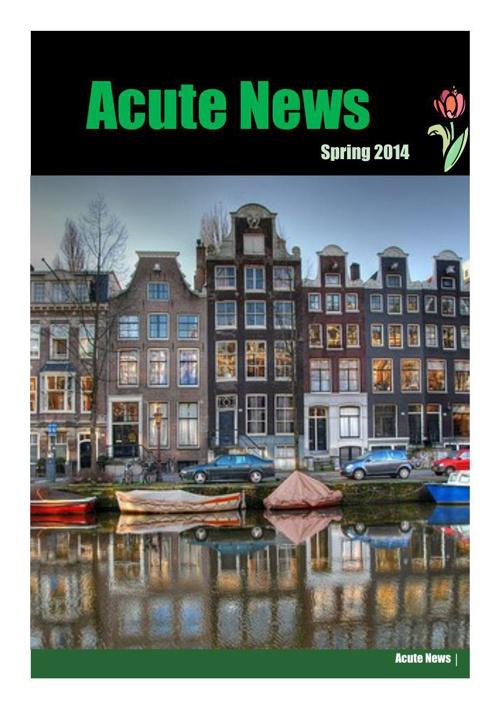 Acute News Spring 2014