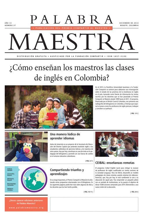 Palabra Maestra, Edición 37