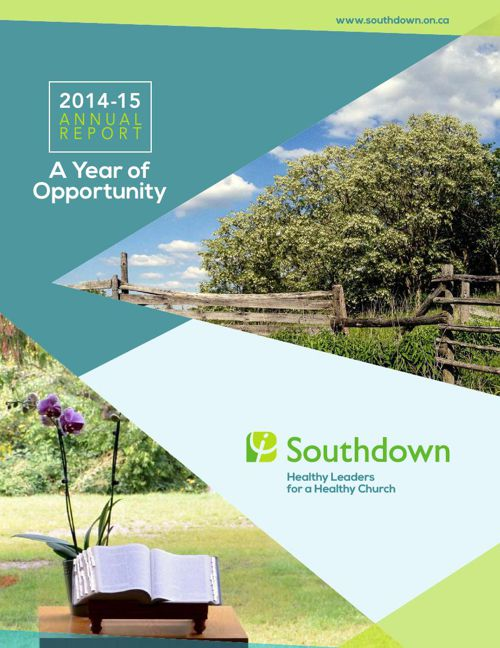 Southdown Annual Report 2014 -15