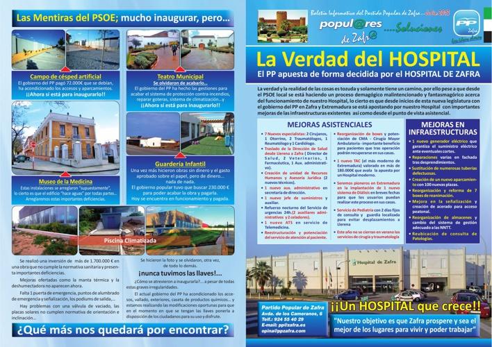 Boletin Informativo PP de Zafra Julio 2013