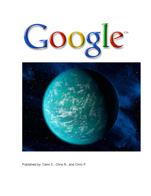 Issuu Magazine: Planet Google