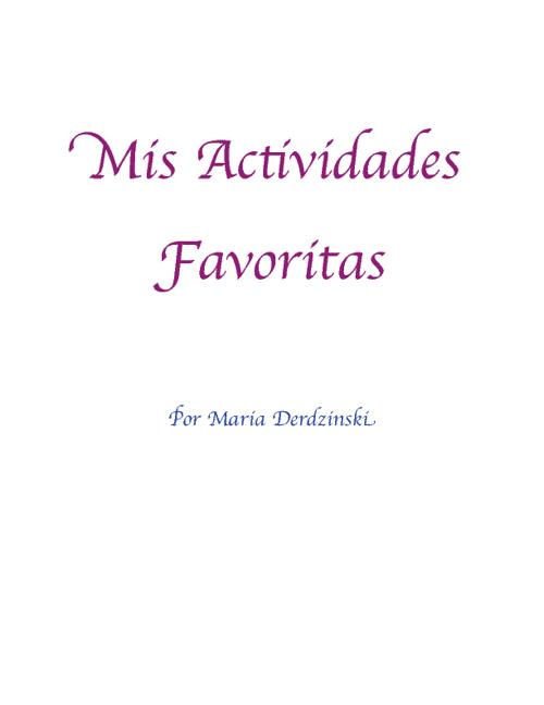 Maria- Spanish