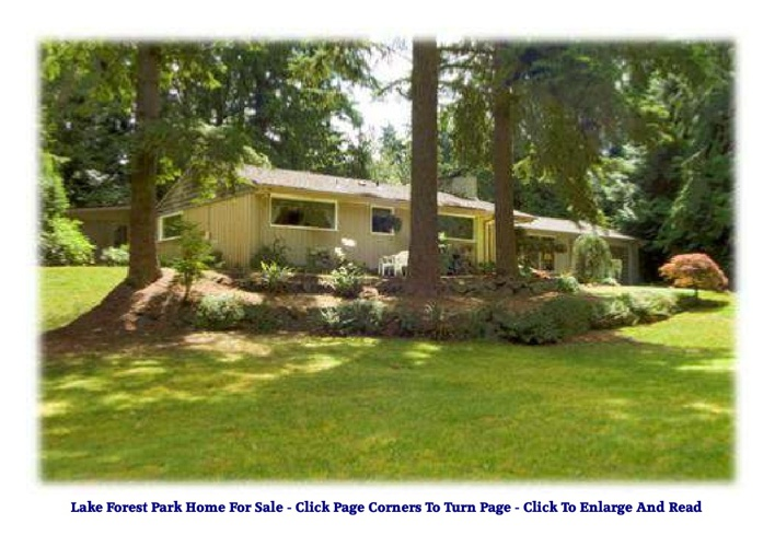 lake forest park home for sale