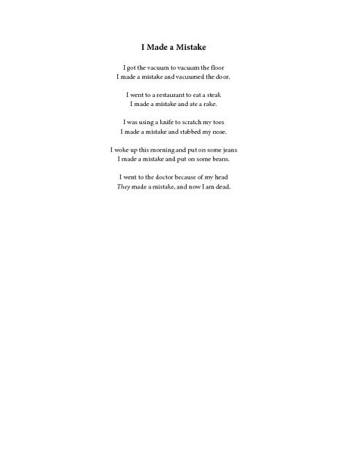 Anders' Poem Anthology