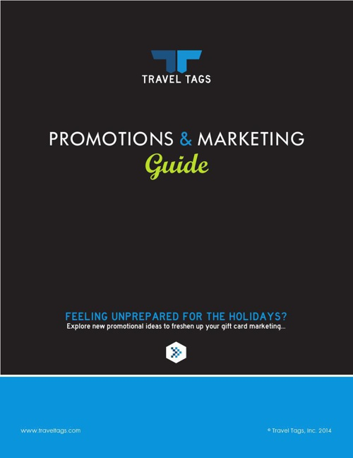 Travel Tags Promotions & Marketing Guide