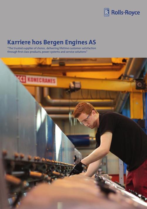 SKISSE - BROSJYRE BERGEN ENGINES ROLLS ROYCE 150914