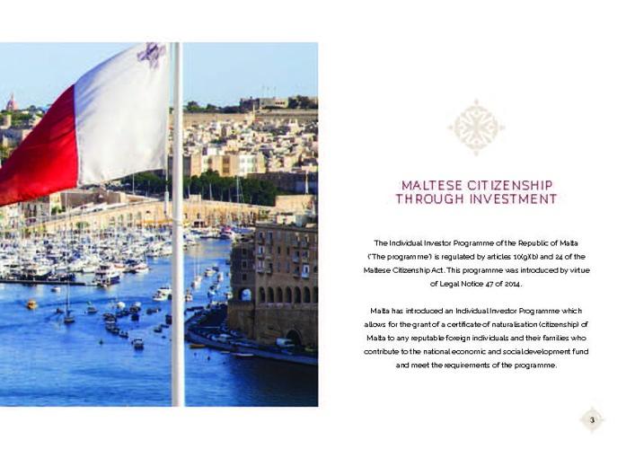 The Malta Individual Investor Programme MIIP