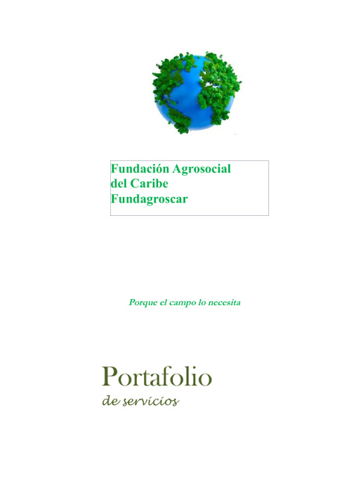 PORTAFOLIO FUNDAGROSCAR