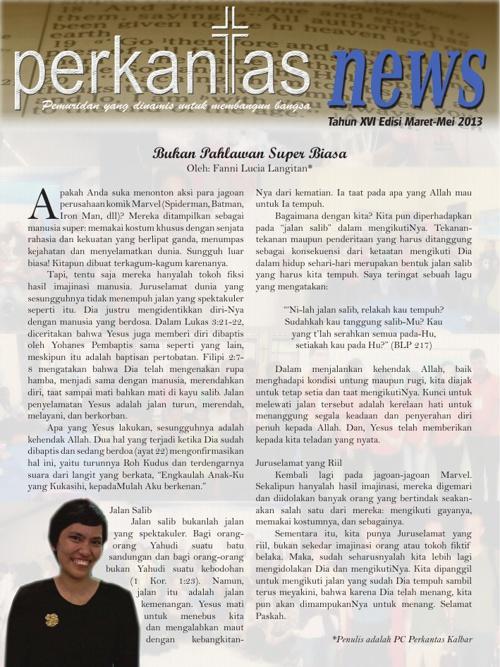Perkantas News Edisi Maret-Mei 2013