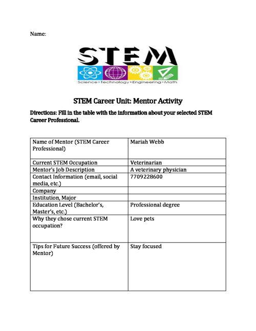 STEM Career flipsnap