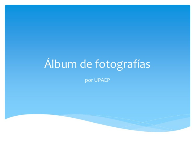 New Albun de Fotos
