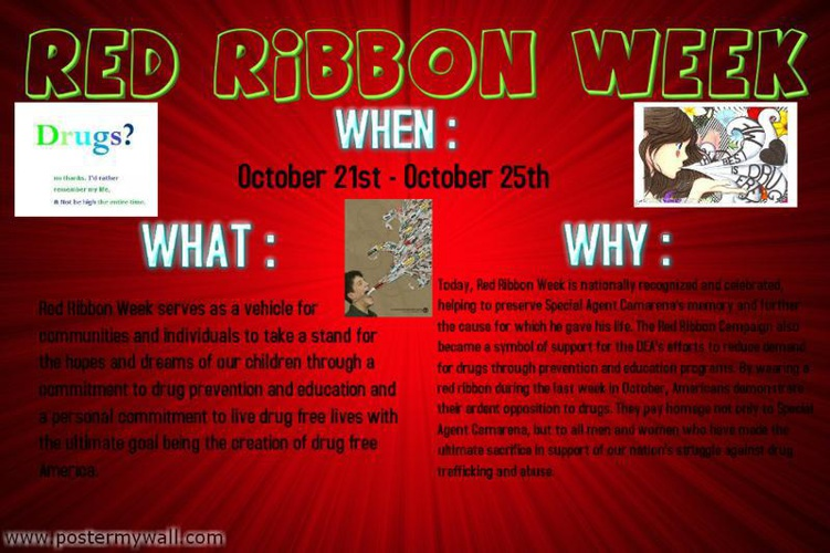 4th Period Griffins Technology - Red Ribbon Week Posters!!!