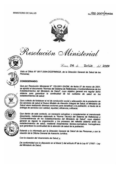 02 NORMA TECNICA SRC - RM 75-2004-MINSA