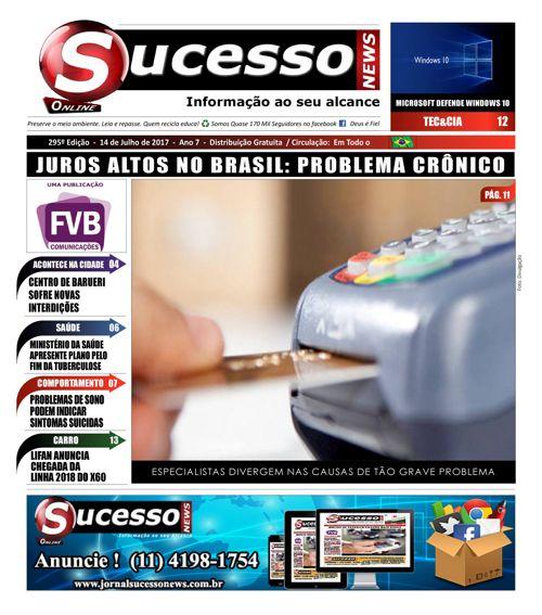 Jornal Sucesso News - Edição - 295 ONLINE