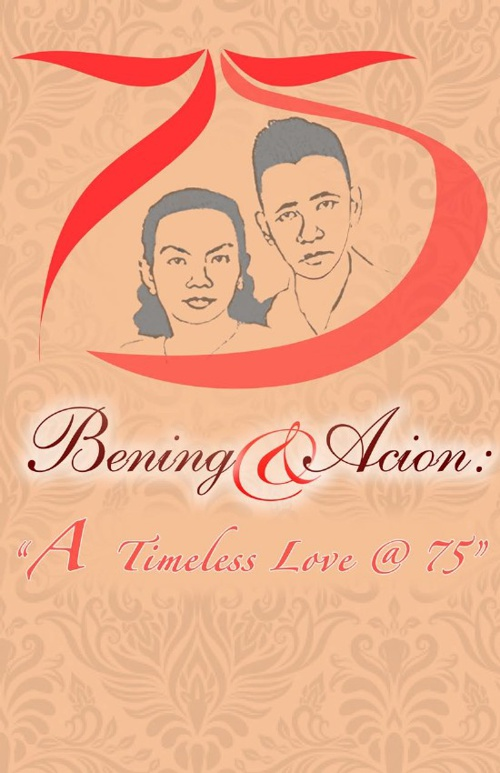 75th Wedding Anniversary Invitation
