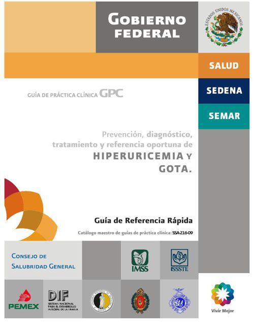 guia gota + hiperuricemia