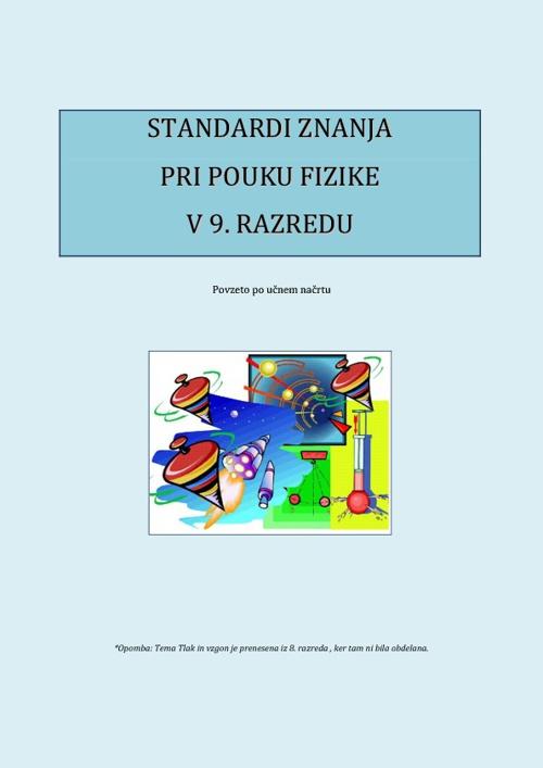 Standardi fizika 9