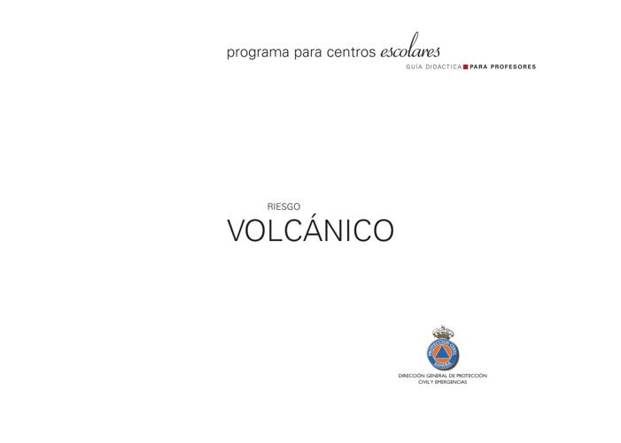 Dossier de Riesgo Volcánico
