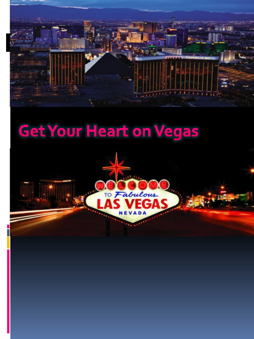 Brochure of Las Vegas