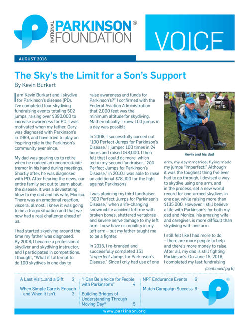 Summer 2016 Voice Newsletter