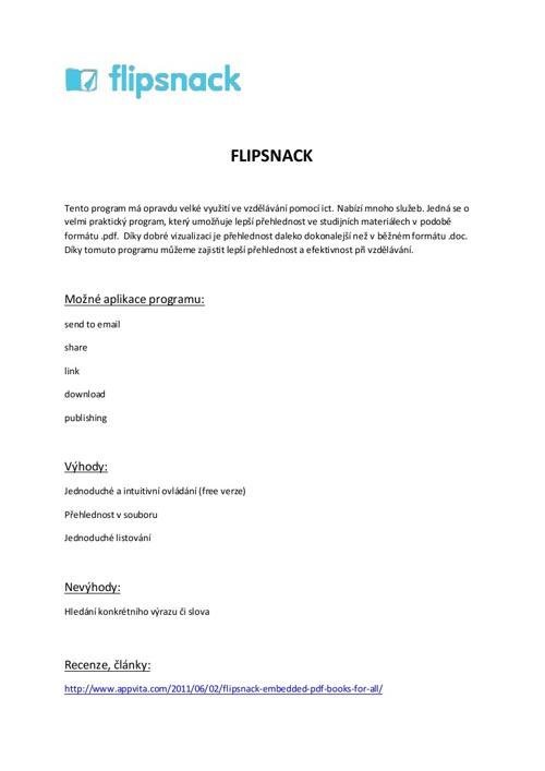 ICT II - Flipsnack vs. Pinterest