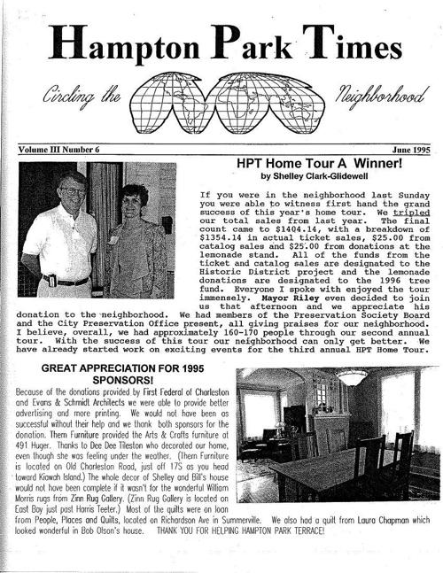 HPT Newsletter June 1995