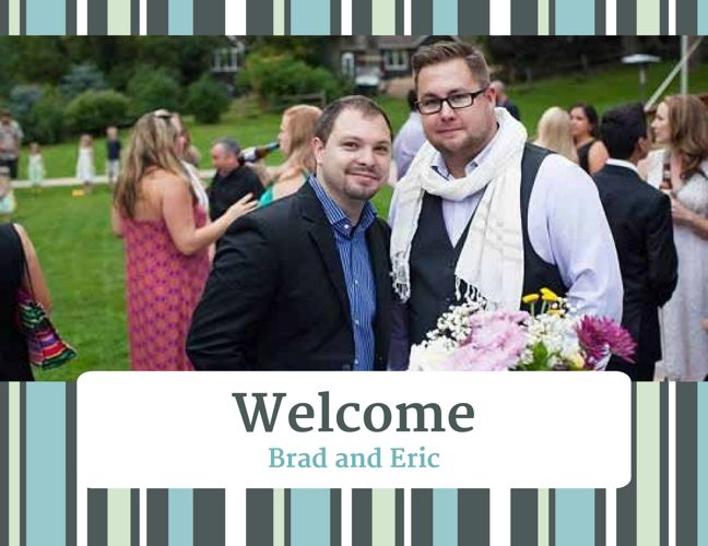 Eric and Brad's Adoptive Family Profile