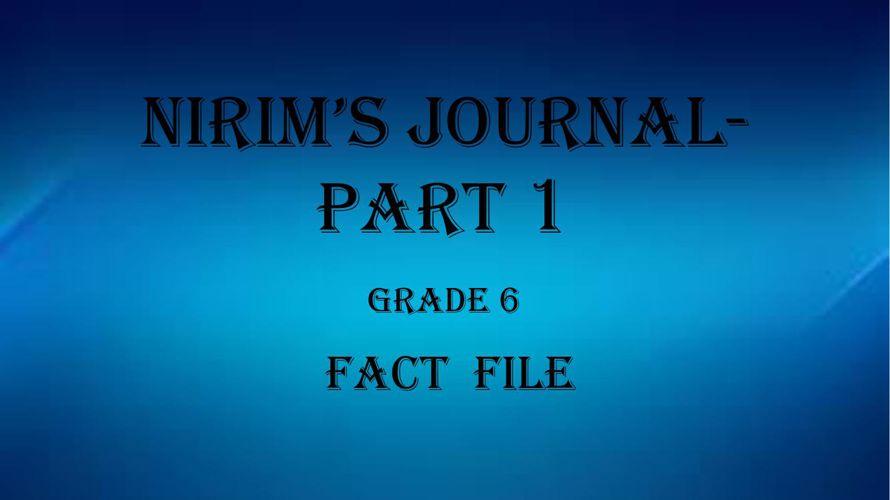 Fact File 1