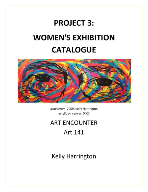 Final Project: Women's Exhibition Catalogue