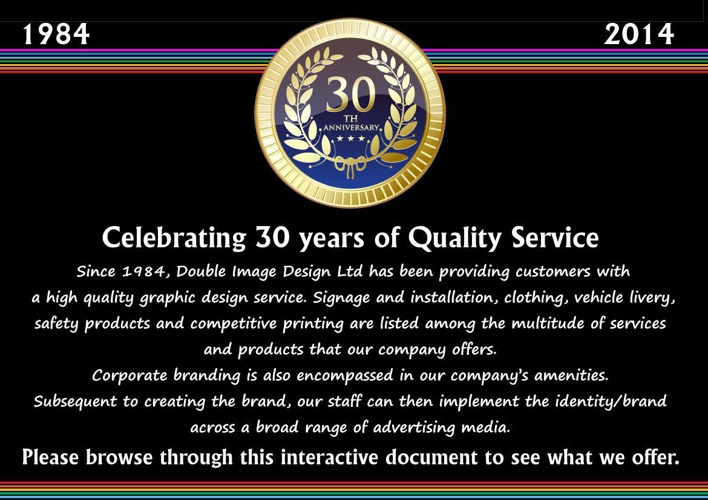 Double Image 30 years of quality service