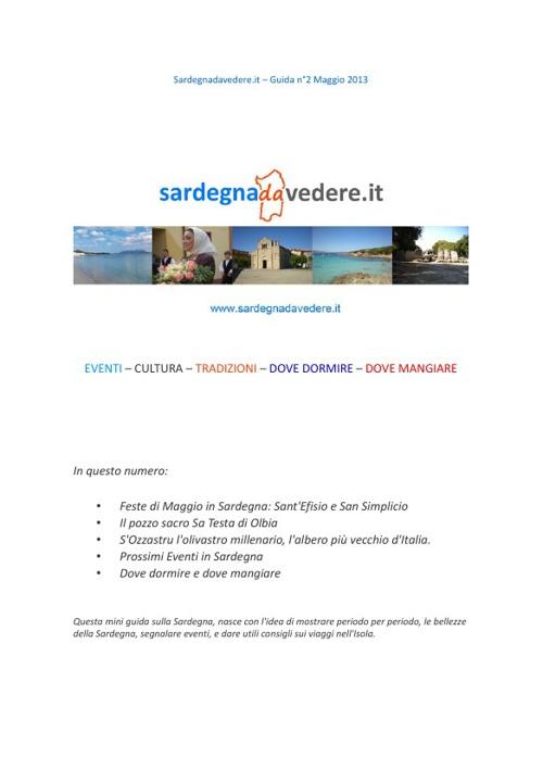 Guida Sardegna da Vedere n°2 maggio 2013