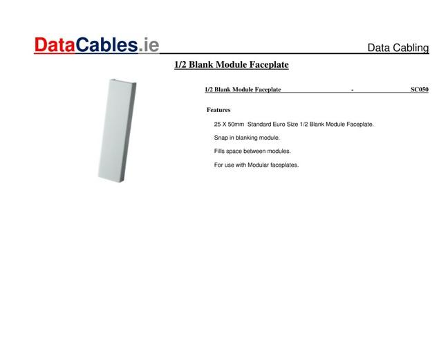 Copy of 1-2-Blank-Module-Faceplate