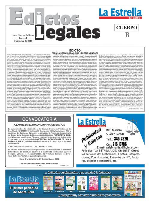 Judiciales 1 jueves - diciembre 2016 - copia