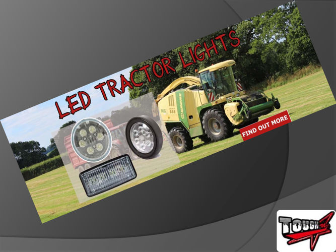 LED Tractor LIghts & Strobe Lights Updates