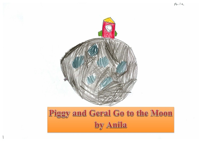 Piggy and Gerald Go to the Moon