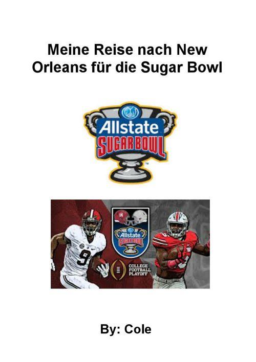 Meine Reise nach New Orleans für die Sugar Bowl