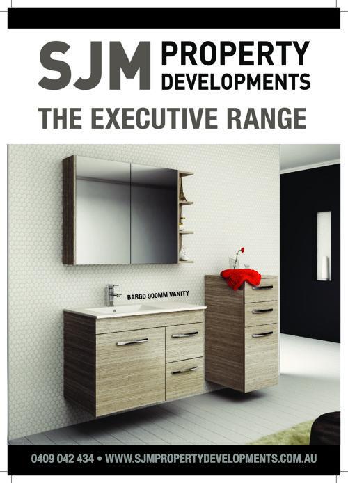 SJM Executive Range Brochure Insert Pages