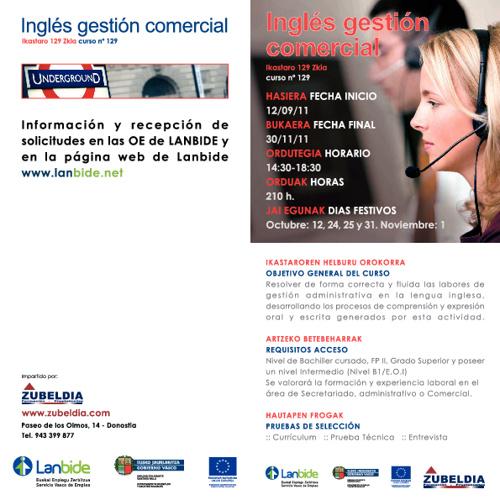 Inglés Gestión Comercial